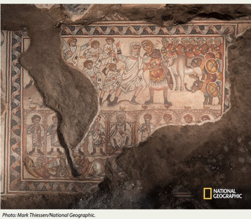 Archaeological Discoveries: Mosaics Uncovered at 4th Century Synagogue in Huqoq
